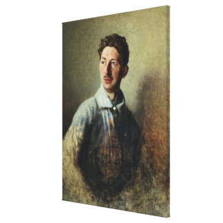 Portrait of the poet Sergey Gorodetsky  1909 Gallery Wrapped Canvas