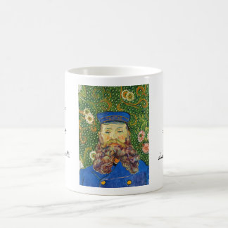 Portrait of the Postman Joseph Rouli Van gogh vinc Coffee Mugs