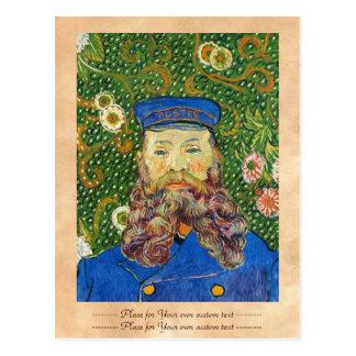 Portrait of the Postman Joseph Rouli Van gogh vinc Postcard