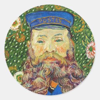 Portrait of the Postman Joseph Rouli Van gogh vinc Sticker