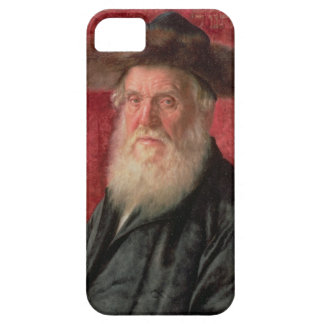Portrait of the Rabbi of Nadvorno, c.1910 (oil on iPhone 5 Cover