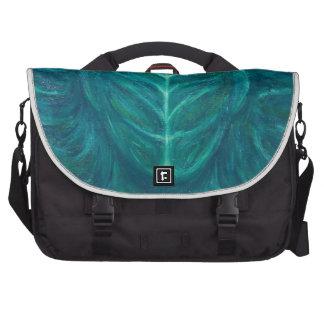 Portrait of the Real Green Man (surrealism) Laptop Commuter Bag
