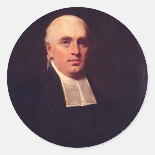 Portrait of the Rev. William Paul by Henry Raeburn Sticker