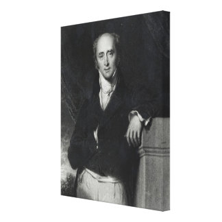 Portrait of the Right Honourable Charles Grey Canvas Print
