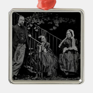 Portrait of the Rossetti Family, 1864 Christmas Ornament