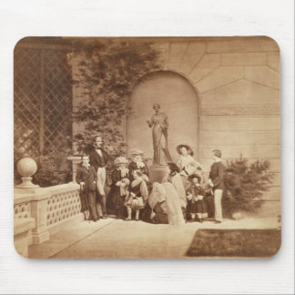 Portrait of the Royal Family at Osborne House, 185 Mouse Mat