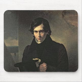 Portrait of the Russian author Nestor Kukolnik Mouse Pad