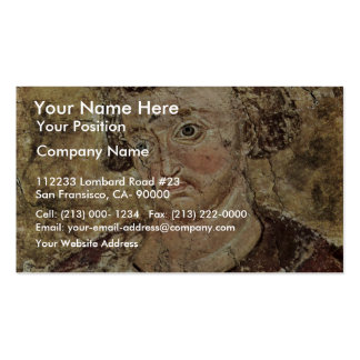Portrait Of The Serbian King Vladislav By Meister Pack Of Standard Business Cards