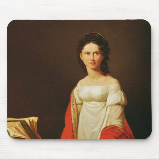 Portrait of the singer Anna Borunova, 1821 Mouse Mat