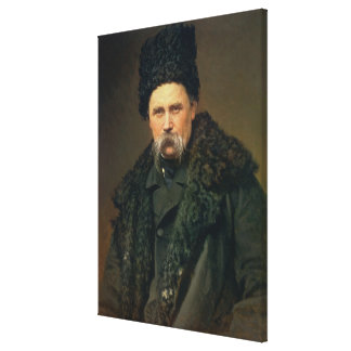 Portrait of the Ukranian Author Canvas Print