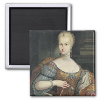 Portrait of the Wife of Pietro Leopoldo di Lorena, Magnet