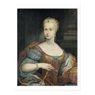Portrait of the Wife of Pietro Leopoldo di Lorena, Postcard