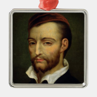 Portrait of Theodore Gericault Christmas Ornament