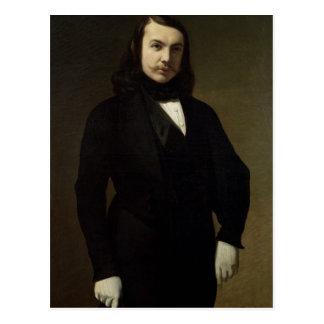 Portrait of Theophile Gautier , 1839 Postcard