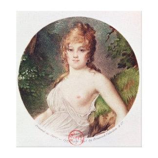 Portrait of Theresa de Cabarrus Canvas Print