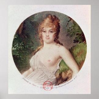 Portrait of Theresa de Cabarrus Poster