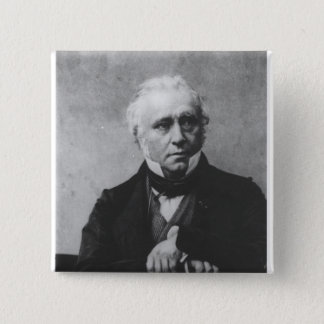 Portrait of Thomas Babington Macaulay 15 Cm Square Badge