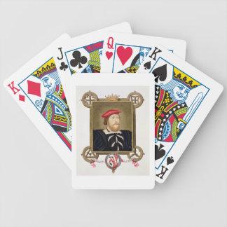 Portrait of Thomas Boleyn (1477-1539) Earl of Wilt Bicycle Playing Cards