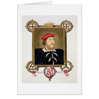 Portrait of Thomas Boleyn (1477-1539) Earl of Wilt Card