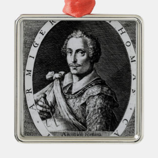 Portrait of Thomas Cavendish Christmas Ornament