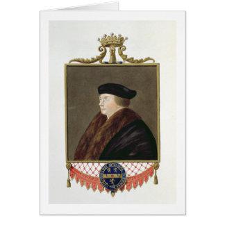 Portrait of Thomas Cromwell (c.1485-1540) Ist Earl Card