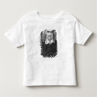 Portrait of Thomas Hobbes Toddler T-Shirt
