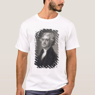 Portrait of Thomas Jefferson, engraved by Henry Br T-Shirt