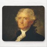 Portrait of Thomas Jefferson Mouse Mat