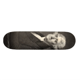 Portrait of Thomas Jefferson skateboard