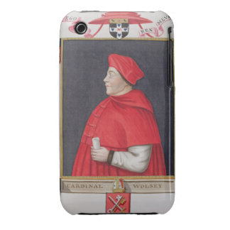Portrait of Thomas Wolsey (c.1475-1530) Cardinal a iPhone 3 Covers