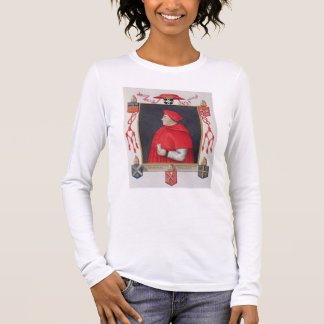 Portrait of Thomas Wolsey (c.1475-1530) Cardinal a Long Sleeve T-Shirt