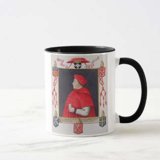 Portrait of Thomas Wolsey (c.1475-1530) Cardinal a Mug