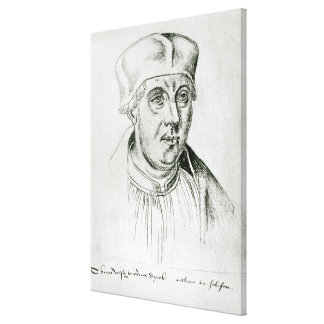 Portrait of Thomas Wolsey, cardinal of York Canvas Print