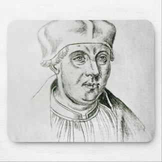 Portrait of Thomas Wolsey, cardinal of York Mouse Mat
