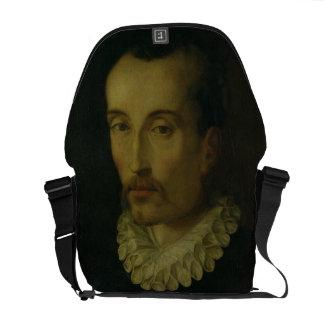 Portrait of Torquato Tasso, 1585-90 (oil on panel) Commuter Bags