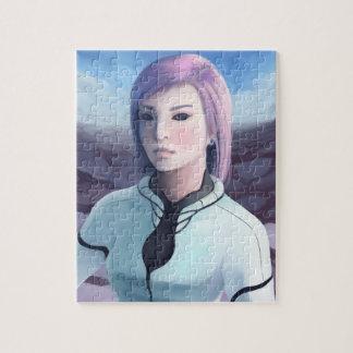 Portrait of Trisha Jigsaw Puzzle