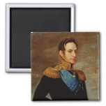 Portrait of Tsar Nicholas I  1826 Magnets