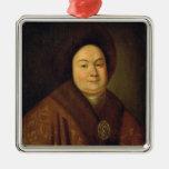 Portrait of Tsarina Evdokiya Feodorovna Christmas Tree Ornament