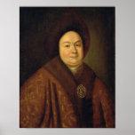Portrait of Tsarina Evdokiya Feodorovna Poster