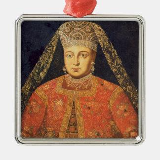 Portrait of Tsarina Marfa Matveyevna Christmas Ornament