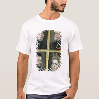 Portrait of Two Men and Two Women T-Shirt