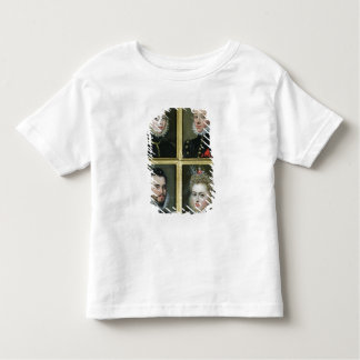 Portrait of Two Men and Two Women Toddler T-Shirt
