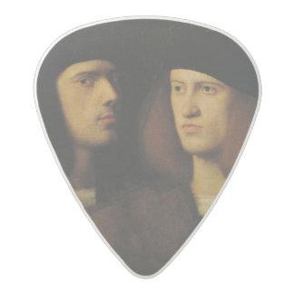 Portrait of Two Young Men Acetal Guitar Pick