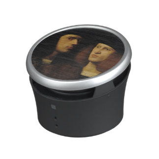 Portrait of Two Young Men Bluetooth Speaker