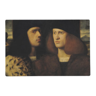 Portrait of Two Young Men Laminated Placemat