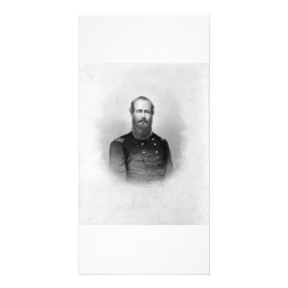 Portrait of Ulysses S Grant collector photo card