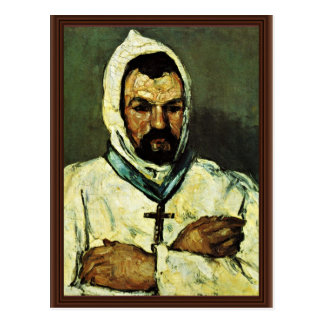 Portrait Of Uncle Dominique As A Monk Postcard