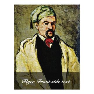 Portrait Of Uncle Dominique By Paul Cézanne 21.5 Cm X 28 Cm Flyer