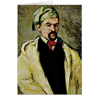 Portrait Of Uncle Dominique By Paul Cezanne Greeting Card