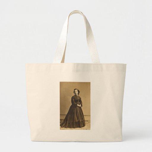 Portrait of Union Spy Pauline Cushman Tote Bags